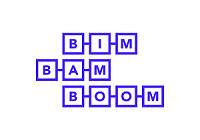 Site web de la société BIM BAM BOOM, spécialiste BIM