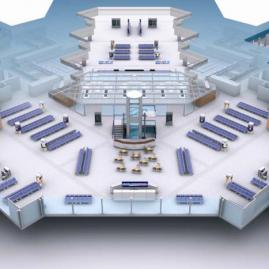 Coordination BIM MEP pour ADPi – Tri Bagage du Satellite 4 (Roissy)